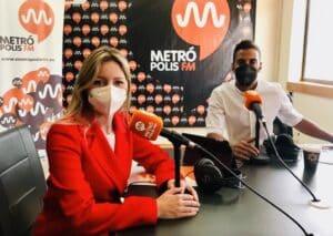 Ana Martínez Vidal (Coordinadora regional de Cs) y Alberto Huertas