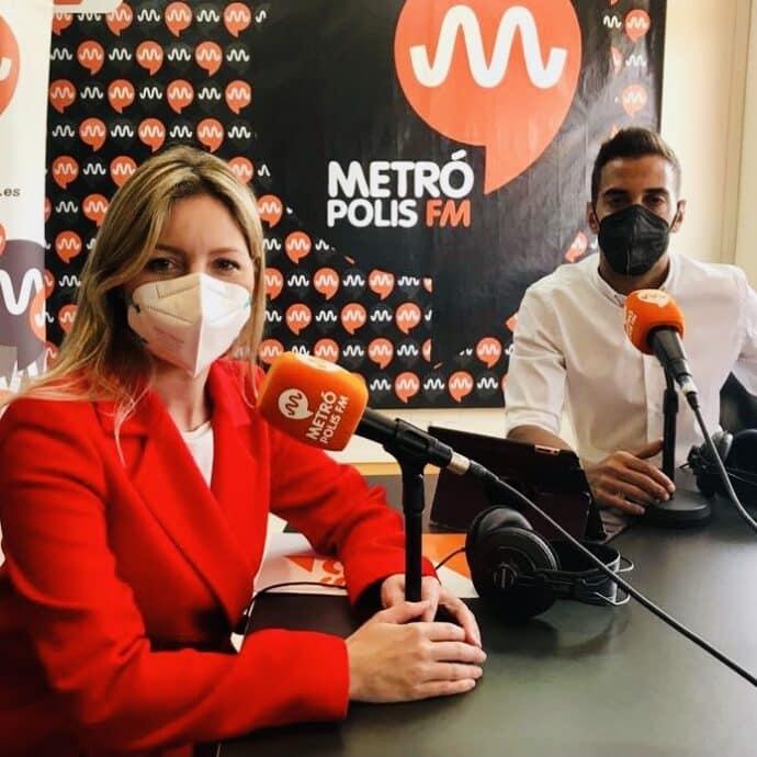 Alberto Huertas y Ana Martínez Vidal